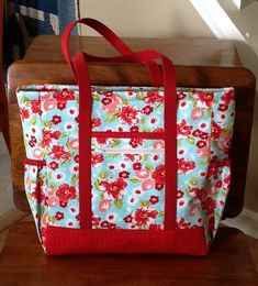 Professional Tote Ruby Blue from Keep It Thimble