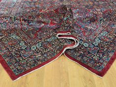 "Buy 9'x25'7"" Hand-Knotted Antique Persian Sarouk Gallery Size Exc Cond Rug  #homedecor #decor #woolrug #rugrestoration #rugpadding #orientalrugs #interior"