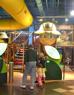 """""""Billy Beez was much more her pace. It is a HUGE play place with slides, tunnels, and tubes. ALL the kids loved it, and could have played in Billy Beez all day."""" happy customer.  This was designed, manufactured and installed by International Play www.iplayco.com"""