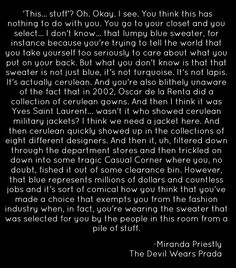 the devil wears prada movie quotes - Google Search