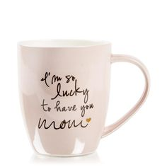 Lucky To Have You Mom Mug - exactly what my incredible mom needs so she never goes a day without knowing how much she means to me Lucky To Have You, I Love You Mom, Mother Day Wishes, Mother Day Gifts, Best Mother, Best Mom, Mothers Love, Happy Mothers Day, Cute Gifts