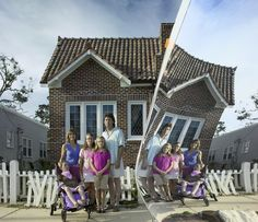 Aicklen Family - Hurricane Katrina, White Picket Fence, North Beach, Sea Level, National Geographic, Mississippi, St Louis, Coast, New Homes