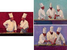 The Chef Suite - Ken Auster - World-Wide-Art.com