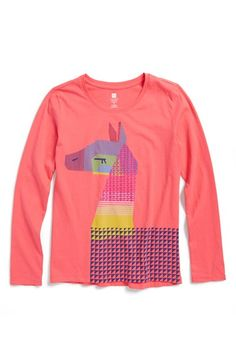 Free shipping and returns on Tea Collection 'La Paz Llama' Graphic Long Sleeve Tee (Toddler Girls, Little Girls & Big Girls) at Nordstrom.com. In honor of Bolivia's national animal, a colorful, geometric llama graphic defines a soft cotton tee in a long-sleeve silhouette perfect for layering.