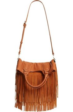 Sole Society Fringe Foldover Tote available at #Nordstrom