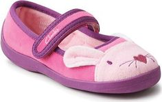 Clarks Hatter Sleep Mary Jane - Pink Synthetic with FREE Shipping & Exchanges. The Clarks Hatter Sleep shoe is perfect for regular wear. A bunny's face, complete with ears,