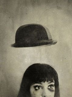 Rimel Neffati - love this photographer's portraits! Artistic Photography, Fine Art Photography, Black N White Images, Black And White, Magic Hat, Peculiar Children, Pierrot, Dark Art, Vintage Photos