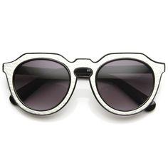 6e322807c7 Trendy Womens Designer Block Cut Pattern Sunglasses 9156