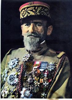 GENERAL ROLLETT. Inspector General of the French Foreign Legion it could be said that he saved the Legion from extinction during the inter-war years when the French Government was looking for ways to modernize it's military and thought the Legion had outlived it's usefulness.