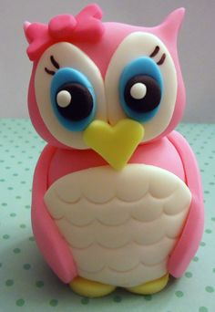 fondant cake topper Sooo cute