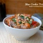 Slow Cooker Thai Beef