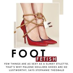 Malone Souliers' berry nappa and burgundy elaphe 'Emanuelle' pumps on The Sunday Times Style's Instagram.  Stilettos and spike heels: is there anything sexier? We look at the wonderful shoes of Malone Souliers.  #MaloneSouliers #TheSundayTimesStyle #FootFetish #Stilettos #SpikeHeels #Emanuelle #luxury #womens #shoes #fashion