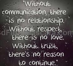 Communication Problems in Relationships and how to Deal with them #respect #trust #expartner #love #relationship #lovesick #advice #romance #partner #breakup #rekindle #spark