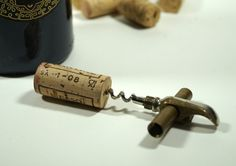 Vintage Corkscrew Bottle OpenerVintage Pocket by DKVINTAGEGALLERY