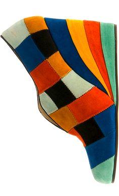 Historical heels: Salvatore Ferragamo beauties from 1942.