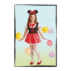 disfraz de ratitia minie para nias infantiles a aostendrs en
