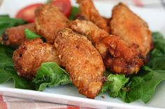 My Kitchen Snippets: Crispy Oven Baked Chicken Wings