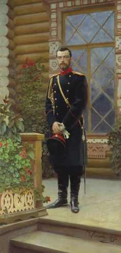 Портрет императора Николая II. 1896, Репин Илья (1844-1930)