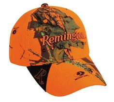 Remington Mossy Oak Blaze Camo Hunting Baseball Hat Cap with Sweatband Hunting Hat, Hunting Clothes, Camouflage Fashion, Mossy Oak, Cowboy Hats, Cool Things To Buy, Cape, Baseball Hats, Outdoor