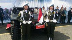 Kisah Serda Bella, Kowad Pengemudi Kendaraan Presiden di HUT TNI