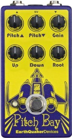 EarthQuaker Devices 00858933004264 Pitch Bay Dirty Polyphonic Harmonizer Guitar Octave Effect Pedal