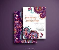 Indian weddings are well-known for its elaborate ceremonies that are colorful and culturally rich. The Mehndi ceremony, the beautiful and intricate henna tattoos, are only a few of the iconic things that Indian weddings are known for. If youre looking for beautifully designed Indian wedding invitations? Search no more! The Amita features a very vibrant color scheme that fits a festive and traditional indian wedding. T h i s C o l l e c t i o n I n c l u d e s…