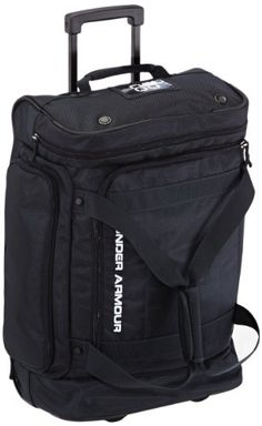Under Armour Road Game Wheeled Duffel Bag, Black, Large Under Armour $170.00 http://smile.amazon.com/dp/B009TPNJSW/ref=cm_sw_r_pi_dp_w1v9ub06N6ZE7