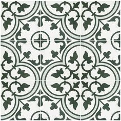 """You'll love the Artea 9.5"""" x 9.5"""" Porcelain Field Tile in Gray/Green at AllModern - With Great Deals on modern Renovation  products and Free Shipping on most stuff, even the big stuff."""