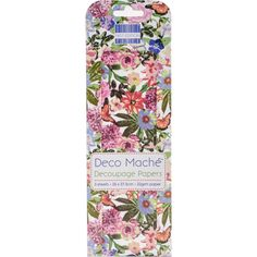 DECOUPAGE PAPER, Tropical Decoupage Paper, Nature Decoupage Paper, Floral Decoupage Paper, Deco Mache Paper, Garden Decoupage Paper by OneDayLongAgo on Etsy