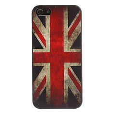 Caso do teste padrão da bandeira americana do estilo retro para o iPhone 5/5S – BRL R$ 10,30