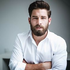 21 epic professional beard styles for office 2020 Beard Styles For Men, Hair And Beard Styles, Long Hair Styles, Handsome Bearded Men, Hairy Men, Bearded Guys, Handsome Faces, Mens Facial, Facial Hair