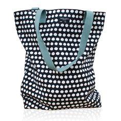 Aspegren-bag-dot-black Canvas bag www.aspegren.dk
