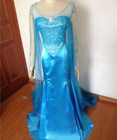 New Disney Frozen Snow Queen Elsa Dress Cosplay by tbcosplay, $159.79