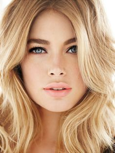 Look like an angel  Recreate Doutzen Kroes' dreamy look with L'Oreal Paris Lucent Magique Liquid Foundation and Double Extension Mascara. Because you're worth it. :)  Source: http://bit.ly/1cW8UqV