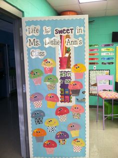 Cute door idea! - Life in First Grade: My New Door