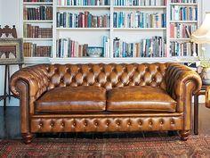 Легендарный дизайн и стиль дивана Честерфилд