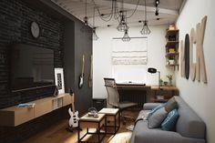 Архитектурное бюро «Этаж» - проектирование зданий, ландшафтное проектирование, разработка дизай-интерьеров | Квартира в ЖК «Времена года»