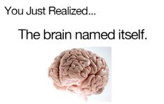Mind blown: if you really think about it