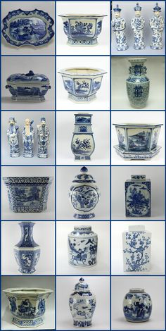 The Enchanted Home with blue and white porcelain