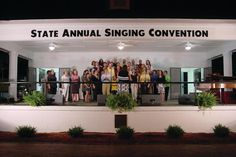 The Ninety-seventh State Annual Singing Convention will be held Friday, June 23rd through Sunday, June 25th in the Singing Grove, a beautiful city park at 400 East Main Street in Benson, North Carolina.