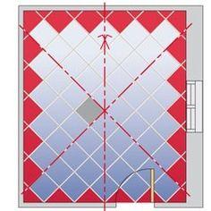 exemple de pose de carrelage la pose joints contrari s joints en croix en chevrons tapis. Black Bedroom Furniture Sets. Home Design Ideas