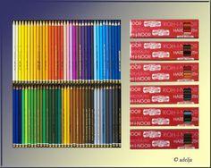 72 Stück KOH-I-NOOR Farbstifte Polycolor - NEU !! in Möbel & Wohnen, Hobby & Künstlerbedarf, Farben & Malzubehör | eBay