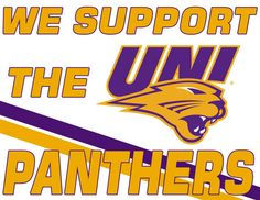 Panther Fan Signs for the NCAA Tournament - Official Site of University of Northern Iowa Athletics. Show your PANTHER PRIDE and print your own sign! University Of Northern Iowa, Fan Signs, Ncaa Tournament, Iowa Hawkeyes, Panthers, Athletics, Nerdy Things, Sports, Pride