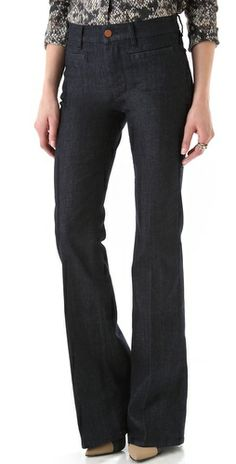 I'm such a sucker for flare jeans and these look awesome!