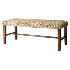 Andres Seagrass Bench - Honey - Mudhut