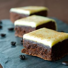 Cappuccino Brownies -  If you're not a coffee fan, then these won't be for you, if you are, prepare thee for a new addiction