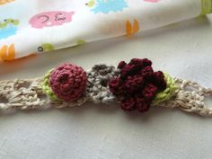 Crochet Flower Jewelry from Little Miss Collection by Little Treasures