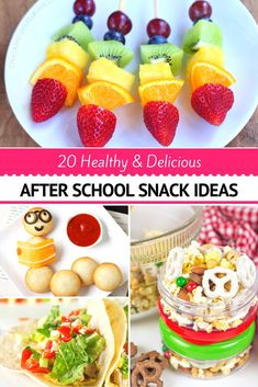 Craftaholics Anonymous® | Healthy After School Snacks