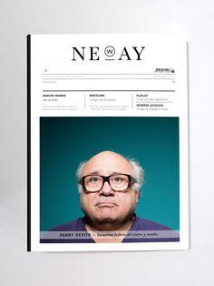 Neway magazine by María Vázquez Reina #editorial #design #magazine