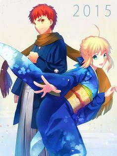 396949-2592x3456-fate+(series)-fatestay+night-type-moon-saber-emiya+shirou-fuyuki+(neigedhiver).jpg (2592×3456)